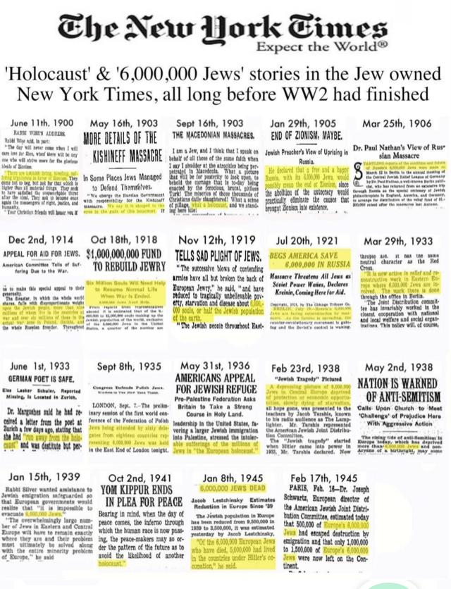 NYT Holocaust