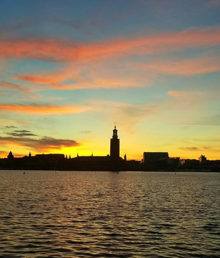 Midnight in Sweden