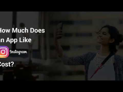How Much Does it Cost to Develop app like Instagram