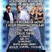 Hollywood Roosevelt 2019 New Year's Eve | Open Bar