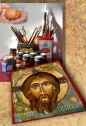 Iconography Retreat in Egg Tempera