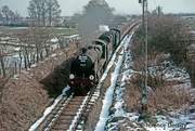 Six Counties Railtour at Kineton from new book