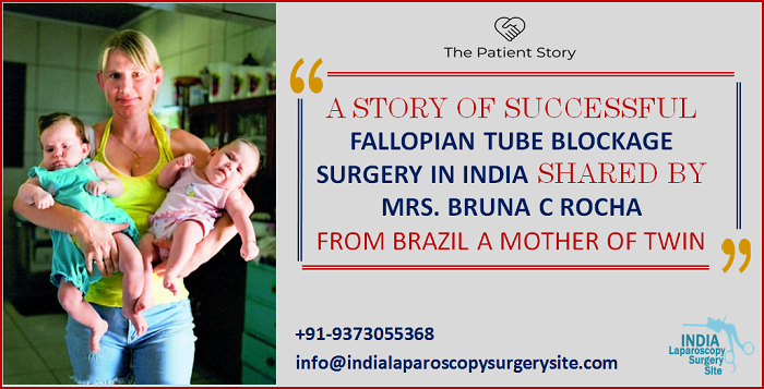 Brazilian Woman Became A Mother Of Twin After Successful Infertility Treatment In India