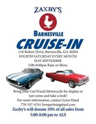 ZAXBYS BARNESVILLE CRUISE IN