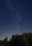 Vintergatan i augusti
