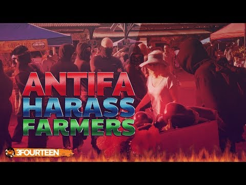 Antifa Harass Family Farm At Public Market - Sarah Dye