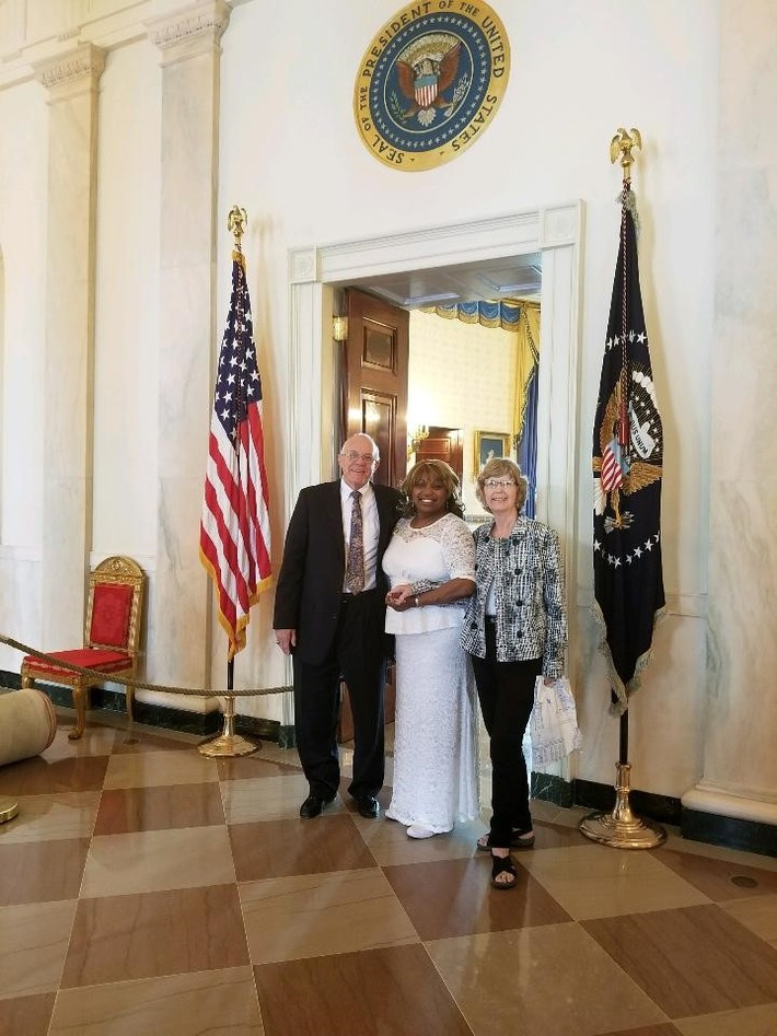 Pam and Bill Ulmer White House