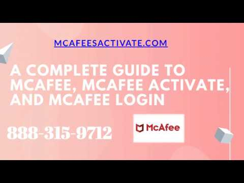 A Complete Guide TO McAfee, McAfee Activate & McAfee Login