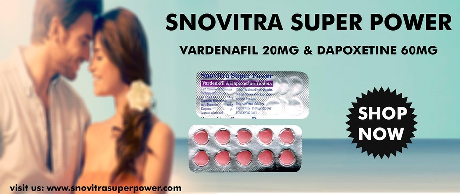 Buy Vardenafil and Dapoxetine Tablets Online