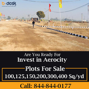 Gmada Aerocity Mohali Plots For Sale