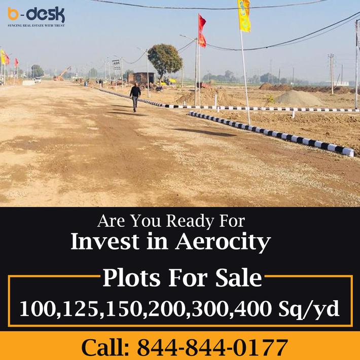 Gmada Aerocity Mohali Plots For Sale