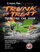 Ceramic Pro Auto Spa Presents Trunk Or Treat