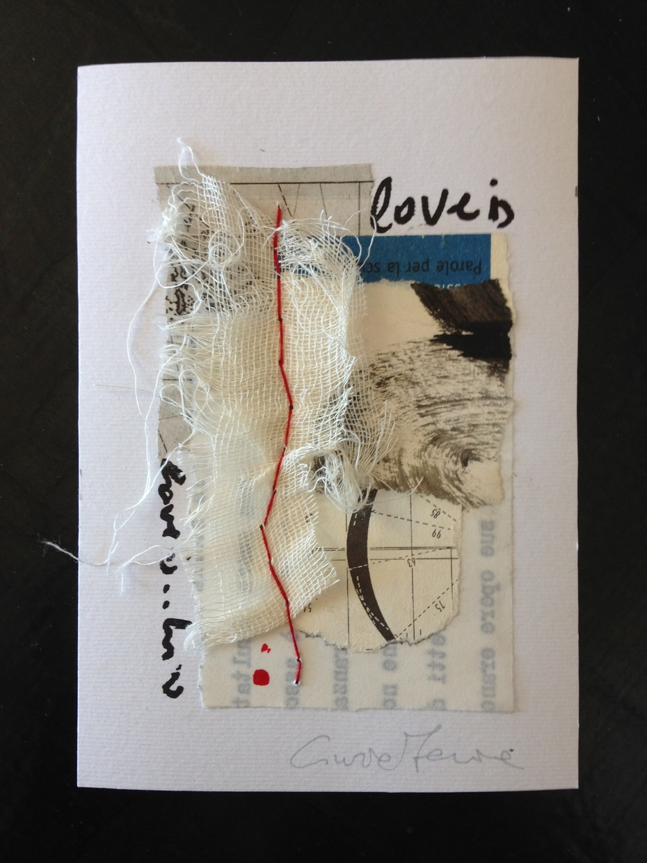 "Cinzia Farina - ""Love is"" per ""Love"", a cura di Kevin e James Gillen, U.K."
