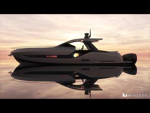 Francesco Struglia - Yacht design with Mindesk for Rhinoceros