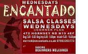 Salsa Social with Encantado - Corner Flag Hornsey Road 18th Sep 7pm onwards