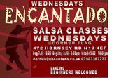 Salsa Social with Encantado - Corner Flag Hornsey Road 18th Sep 7pm onwards