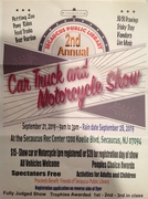 2nd Annual Secaucus Public Library Car, Truck, and Motorcycle show