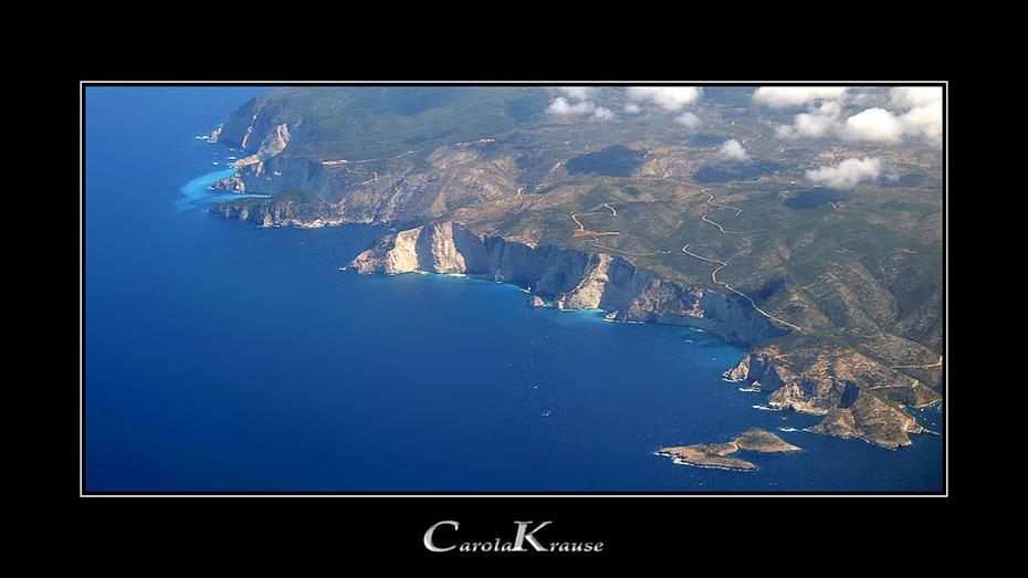 Aerial View of Zante