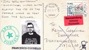Mail art from Francesco Cornello back