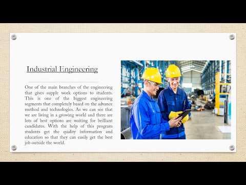 Reasons Why We do Industrial Engineering