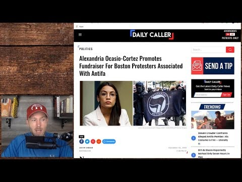 AOC Promotes Antifa Fundraiser for Their BAIL MONEY