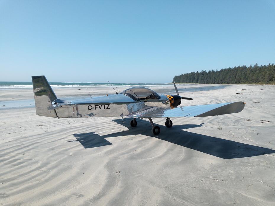 Zenith on the beach