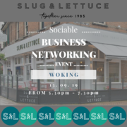 FREE Sociable Business Networking Evening, Woking