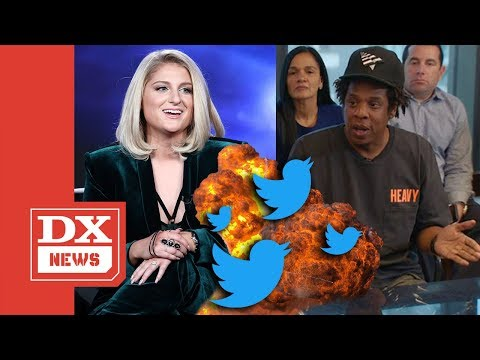 JAY Z Gets Blasted On Twitter For Meghan Trainor NFL Inclusion
