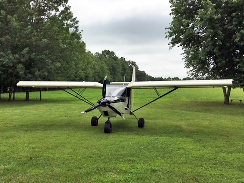 Jim and Amelia Isaacs' STOL CH 701