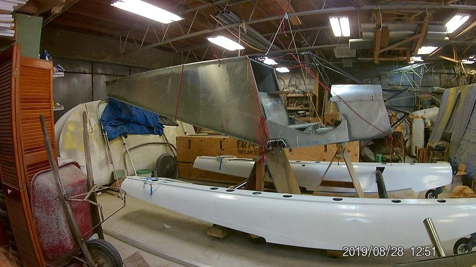 mounting fuselage