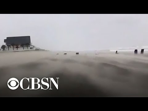 Hurricane Dorian threatens North Carolina with dangerous storm surge