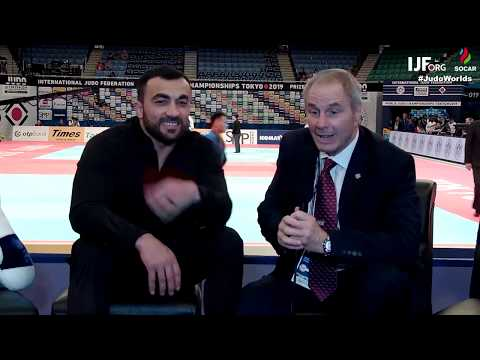 Champions Row - Ilias Iliadis talks to Neil Adams at #JudoWorlds