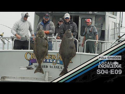 Alaska Bottom Fishing Giant Halibut Lingcod S4 E9 Midnight Sun