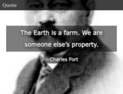 Charles Fort Quote