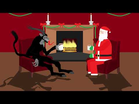 A MisreadBible Christmas (Krampus vs Santa)