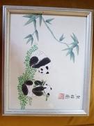 Silk Panda painting 1