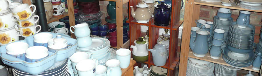 Denby China Find UK: Online Shop for Discontinued Denby China and replacement of discontinued Denby China patterns in Sussex.