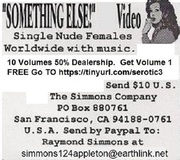 """SOMETHING ELSE!"" Erotic Video"