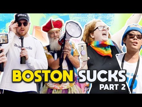 Boston SUCKS: Chaos at the Straight Pride Parade - Part 2 I Slightly Offensive