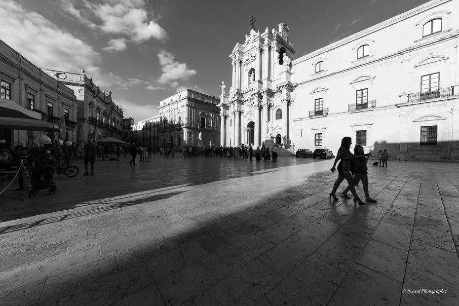 Piazza Duomo Isola di Ortigia Siracusa