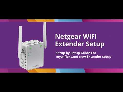 Setup Netgear WiFi Extender