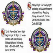 Bishop Prayer line