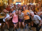 Summer scene at the Jack Quinn's Running Club