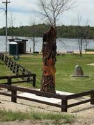 Clear Lake Beach Totem