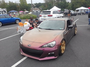 Turn Up the Pink 7th Annual Car Show Subaru FRS
