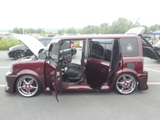 Turn Up the Pink 7th Annual Car Show Scion XB