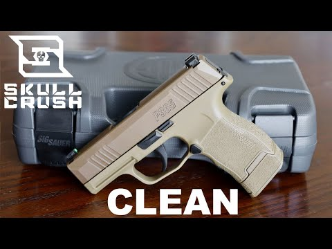 Field Strip & Clean the Sig Sauer P365 - FOR BEGINNERS