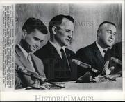 NASA's Apollo 1 Crew Speaks at News Conference in Houston, Texas