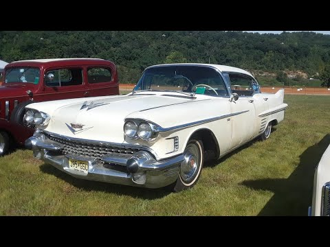 All Original, 1958 Cadillac Survivor At the 2019 Dead Man's Curve Wild Hot Rod Weekend