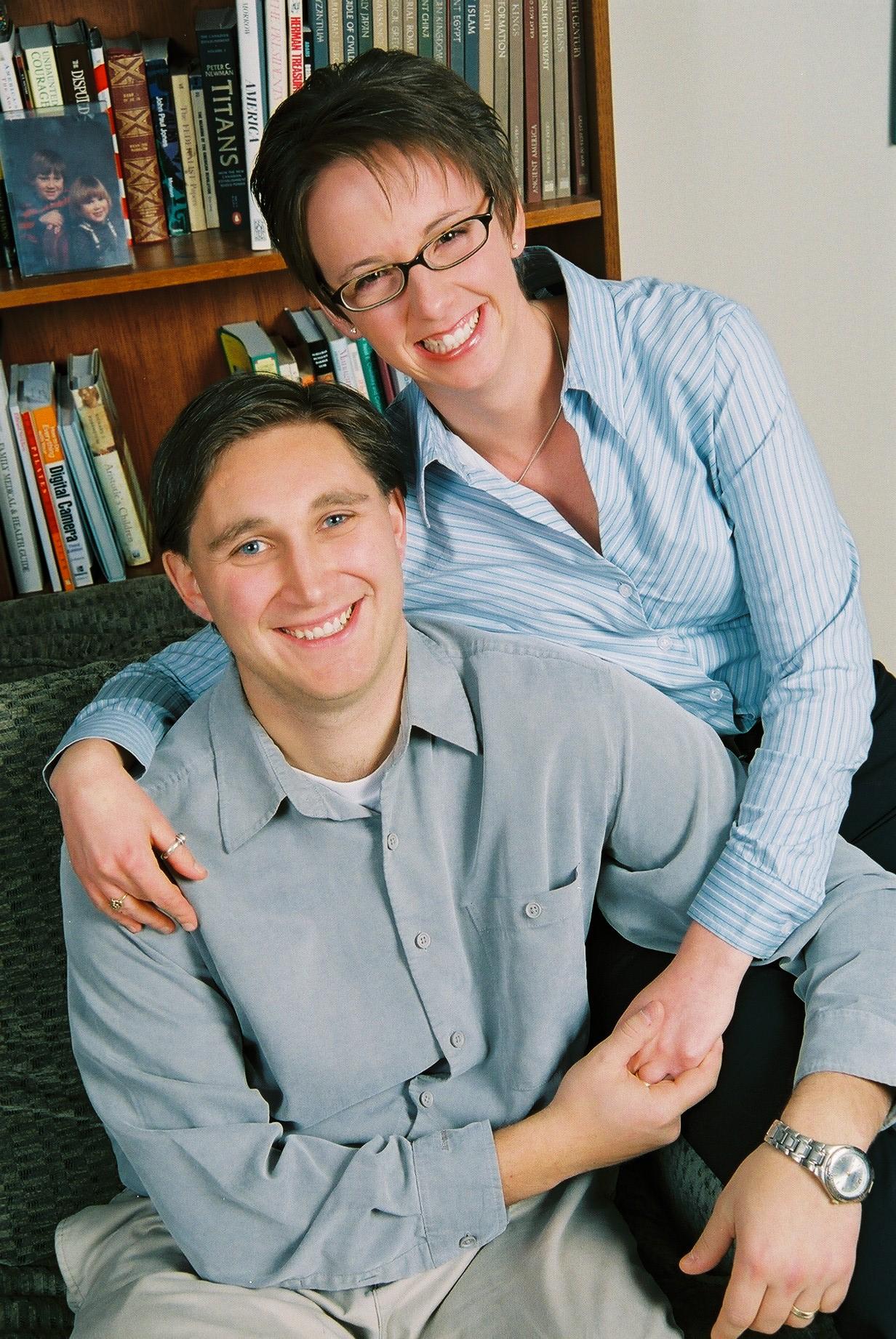 Larissa and Dan Kusel